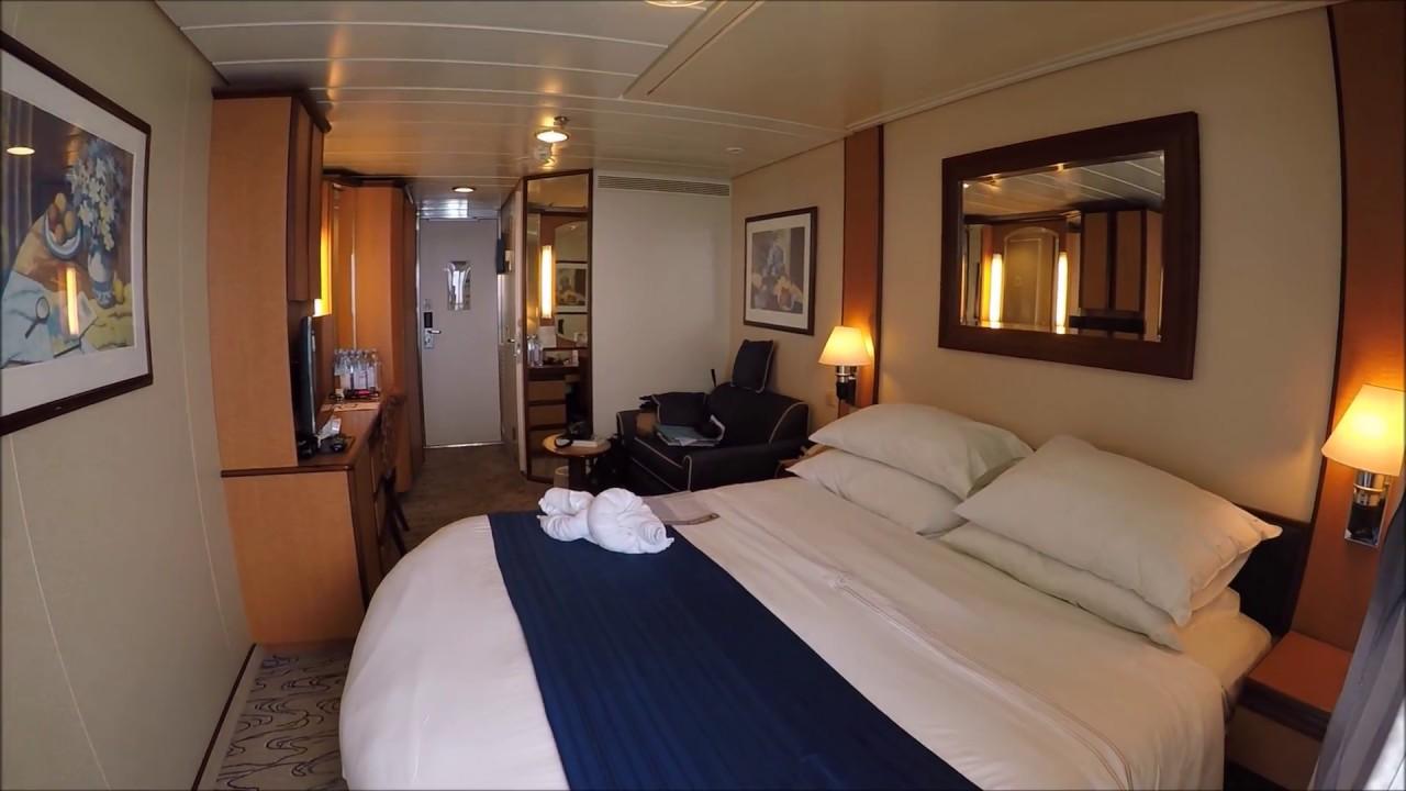 Jewel Of The Seas Balcony Cabin 7662 Video Tour Youtube