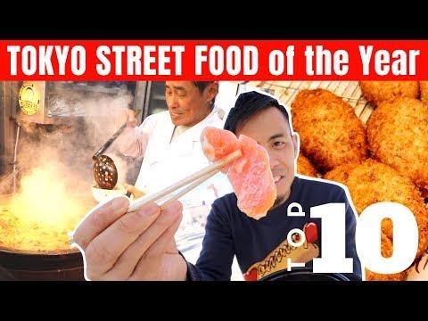 My Favorite TOP 10 Japanese Street Food in Tokyo