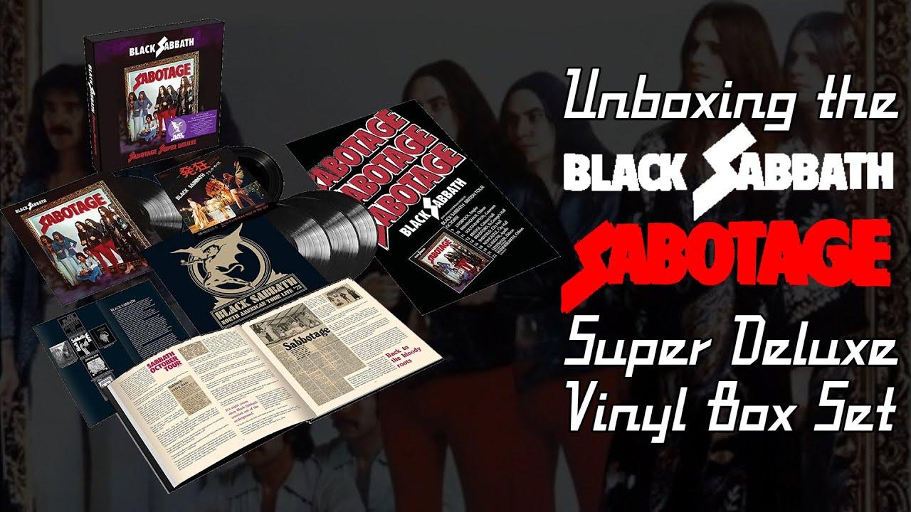 Unboxing the Black Sabbath - Sabotage Super Deluxe Vinyl Box Set | Vinyl Community
