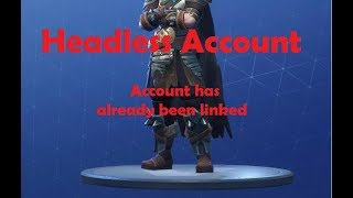 Xbox And Ps4 Already Linked To Epic Games? Easy Fix