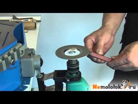 Как заточить инструмент при помощи алмазного шлифовального диска (Kaindl KSS)