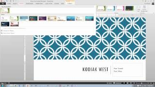PowerPoint 2013, Go! Project 1A, part 1 of 2