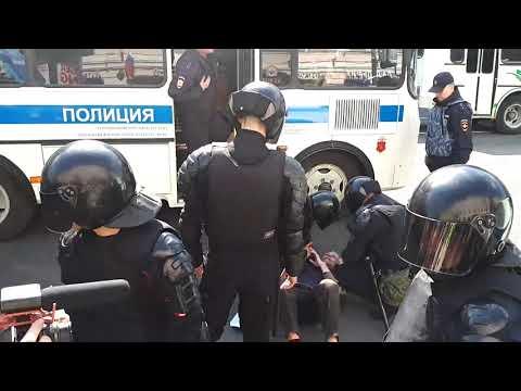 #ОПР Разгонмирной демонстрации1 мая Спб