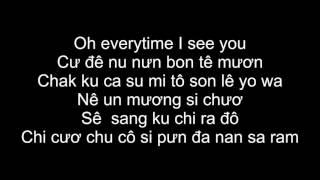 Phiên Âm Tiếng Việt Everytime DESCENDANTS OF THE SUN OST Chen & Punch