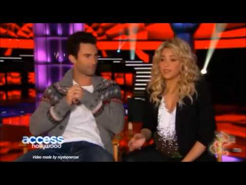 The Voice Season 4 - Coaches Chemistry - Who has the biggest crush on Shakira?