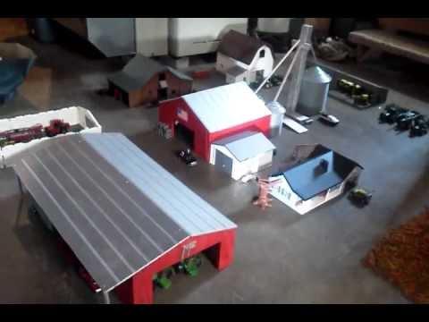 1/64 Farm Display Layout - YouTube