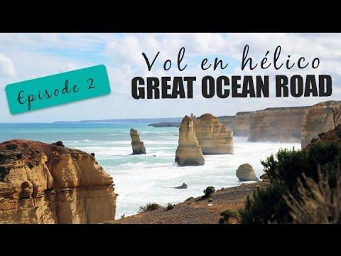 EP2 Survol en hélico de la Great Ocean Road en Australie