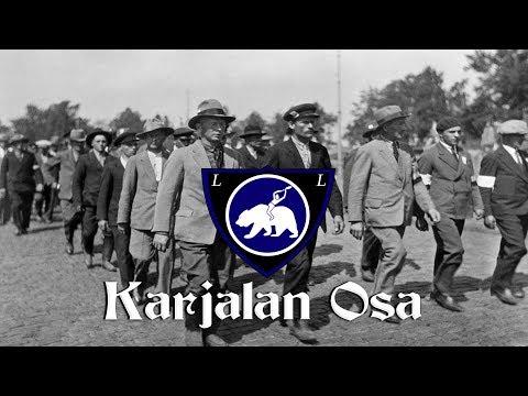 Karjalan Osa [Finnish Patriotic March] [English And Finnish Lyrics]