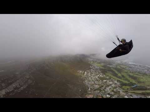 PARAGLIDING SOUTH AFRICA - CHASE CAMERA