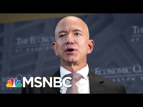 Jeff Bezos Accuses National Enquirer Publisher Of Blackmail And Extortion | Hardball | MSNBC Mp3