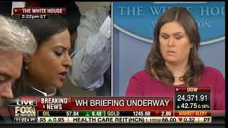 LIBERAL MEDIA POUNCES on Sarah Huckabee Sanders on Shady Trump Accusers