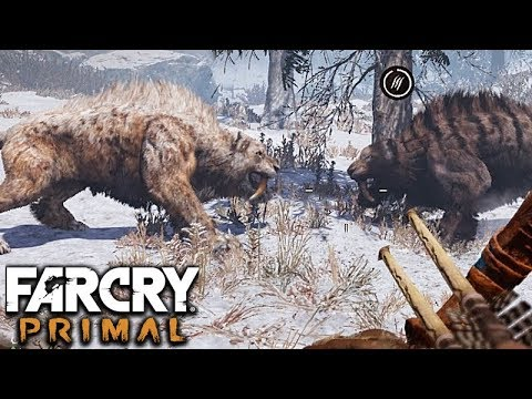 BLOODFANG SABERTOOTH Vs SABERTOOTH TIGER - FIND THE BONE DUST #46 || Far Cry Primal