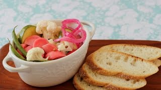 12-hour Pickles (zucchini, Radishes, Cauliflower, Green Beans)