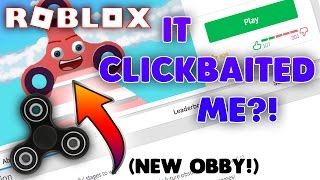FIDGET SPINNER OBBY IN ROBLOX?! | Escape The Fidget Spinner NEW Roblox Obby - FUNNY MOMENTS!