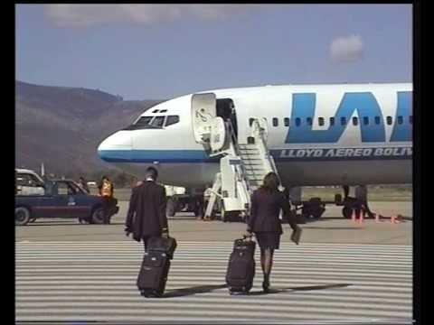 Lloyd Aéreo Boliviano - B727 Flight