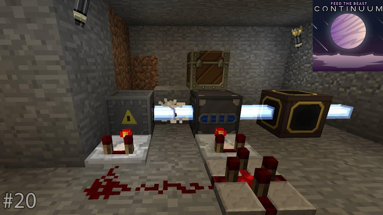 lapis fast automatisch herstellen | minecraft 1.12 ftb continuum
