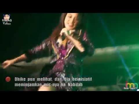 Nabilah JKT48 Lempar Mic Kearah Penonton