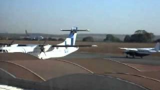 AVIAO DA GOL DECOLANDO DO AEROPORTO DE GOIANIA