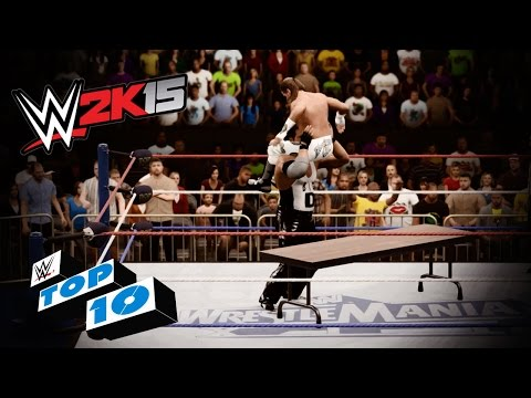 Tumultuous Table Moments - WWE 2K15 Top 10