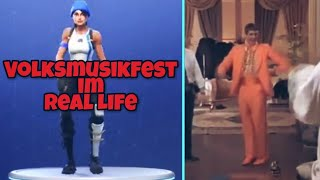 Hootenanny Dance | Volksmusikfest Tanz im Real Life! | Fortnite Battle Royale