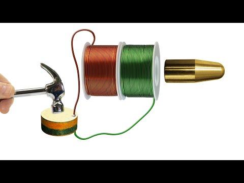 Piezoelectric Coilgun