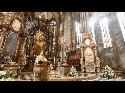 Christmette aus dem Wiener Stephansdom mit Dompfarrer Toni Faber