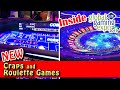EXCLUSIVE Preview of Aruze Gaming's NEW Hybrid Craps and Roulette Games at G2E - Inside the Casino