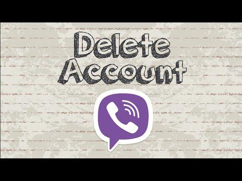 How to delete Viber account