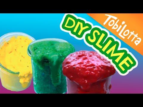 Diy Klebestift Slime Ohne Kleber Waschmittel Borax Schleim