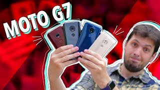 LANÇAMENTO DO MOTO G7 E HANDS ON