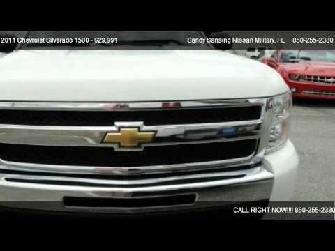 Sandy Sansing Chevrolet >> 2011 Chevrolet Silverado 1500 LT - for sale in Pensacola ...