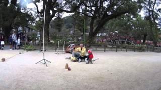 다자이후의 색다른재미 원숭이쇼 by 소니액션캠 FDR-…