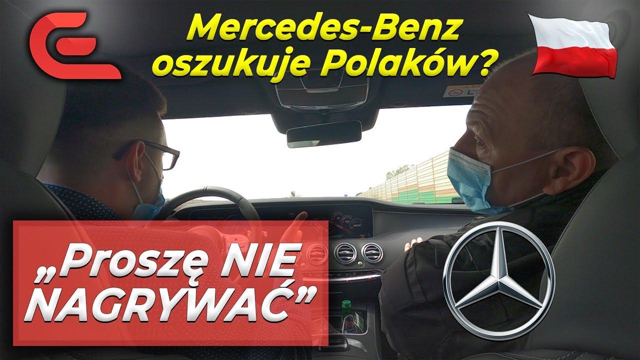 Mercedes-Benz oszukuje Polaków? Sprawa S63 AMG