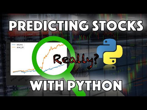 Download Predicting Stock Prices with Python using Machine Learning - Linear Regression