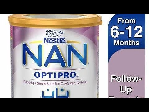 NAN Baby Formula Produced by Nestle