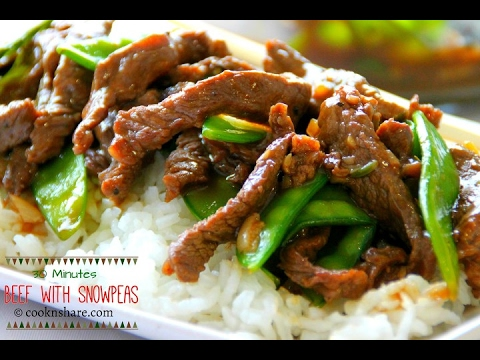 Beef With Snow Peas - Dinner In 30 Minutes