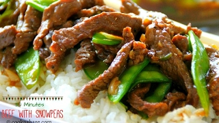 Beef with Snow Peas in 30 Minutes