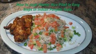 How To Make Basmati Rice Pilaf | Punjabi Style Quick And Easy Rice Pilau