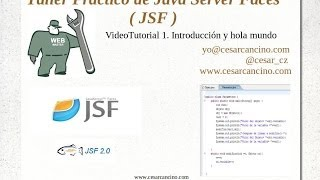 Taller Práctico de Java Server Faces JSF