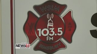 FM radio station run by local volunteer fire department
