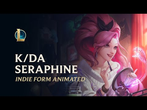 K DA ALL OUT Seraphine Indie | Music Theme - League of legends