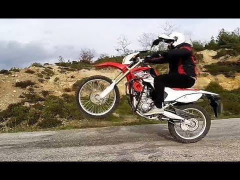 CRF 250  ŞAHA KALKTI