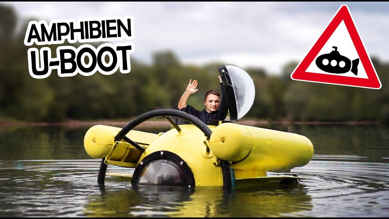 Der erste Test mit unserem GASTANK U-BOOT!