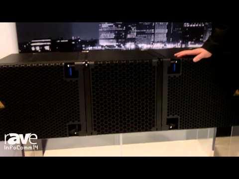 InfoComm 2014: Adamson Showcases E15 Compression Driver