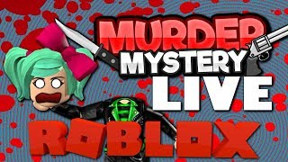 It's MURDER Friday! Roblox LIVE with SallyGreenGamer