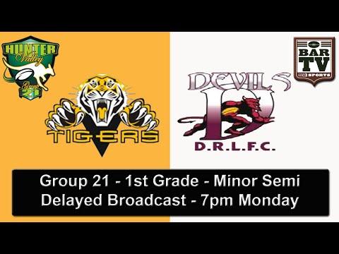 2015 Group 21 - Minor Semi Final - 1st Grade - Aberdeen v Denman