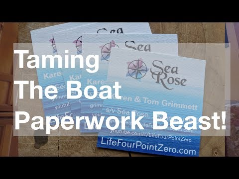 Taming the Boat Paperwork Beast!