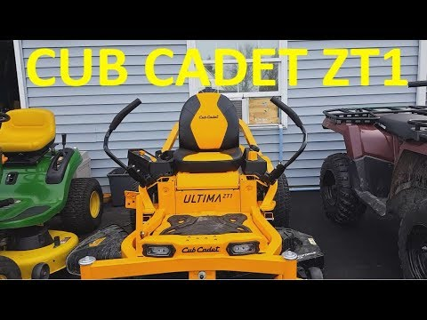 Repeat Cub Cadet Ultima Series zero- turn mower Review by