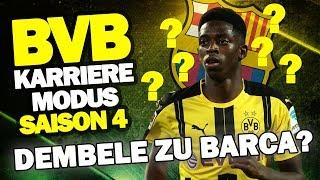 SAISONSTART! Wechselt Dembele Zu Barcelona? ♕ FIFA 17 Karrieremodus BVB S4 Road To FIFA 18 #1