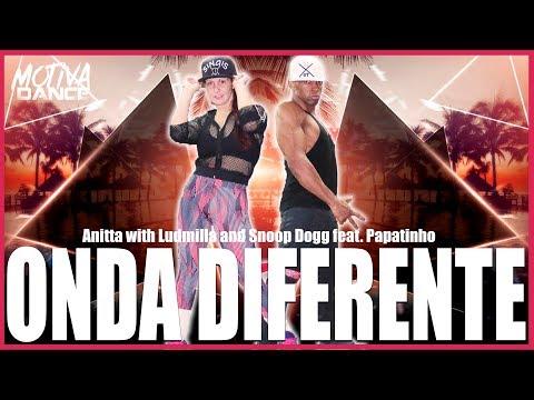 Onda Diferente - Anitta with Ludmilla and Snoop Dogg feat Papatinho  Motiva Dance Coreografia
